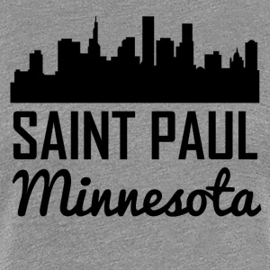 Saint Paul Minnesota Skyline - Women's Premium T-Shirt