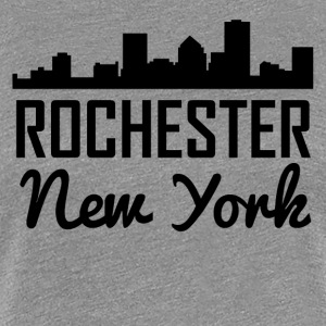 Rochester New York Skyline - Women's Premium T-Shirt