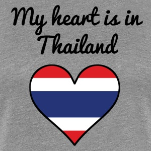 My Heart Is In Thailand - Women's Premium T-Shirt