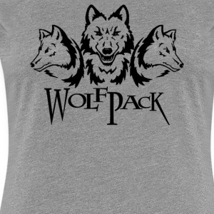 Wolf Pack - Women's Premium T-Shirt