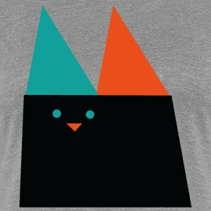 GEOMETRIC CAT - Women's Premium T-Shirt