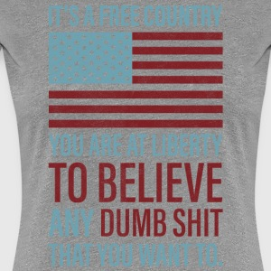 It's a Free Country - Women's Premium T-Shirt