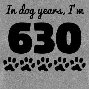 Dog Years 90th Birthday - Women's Premium T-Shirt