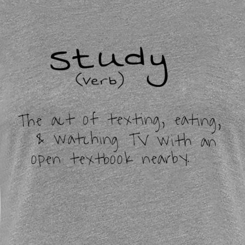Study - Women's Premium T-Shirt