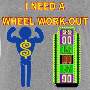 TV Game Show Apparel - TPIR (The Price Is...)Wheel - Women's Premium T-Shirt