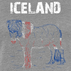 Nation-Design Iceland Iceland Horse - Women's Premium T-Shirt