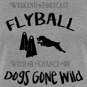 Flyball Weekend Forecast - Women's Premium T-Shirt