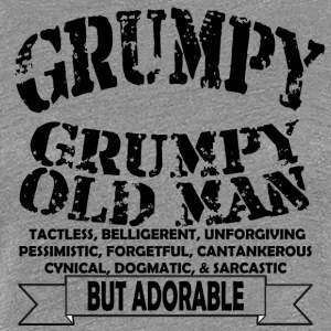 Grumpy Old Man - Women's Premium T-Shirt