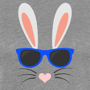 Cool Easter Bunny - Women's Premium T-Shirt