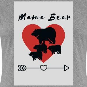 Mama Bear with cubs - Women's Premium T-Shirt