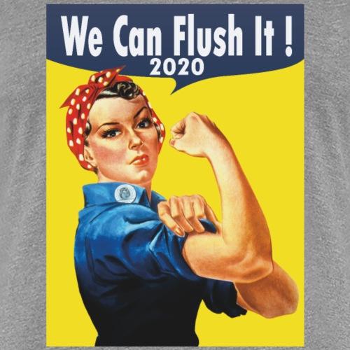 Anti trump : 2020 We can flush it! - Women's Premium T-Shirt