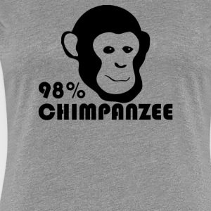 Chimpanzee Evolution - Women's Premium T-Shirt