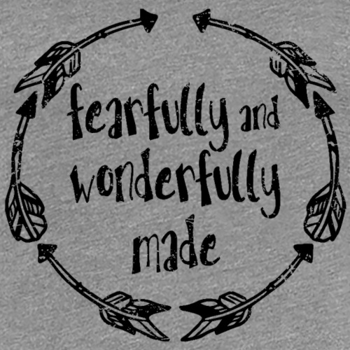 Wonderfully Made - Women's Premium T-Shirt