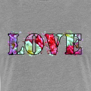 Love-Roses-Collage - Women's Premium T-Shirt