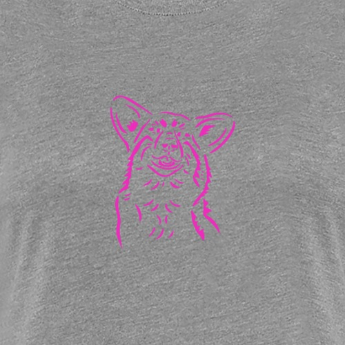 Happy Corgi - Women's Premium T-Shirt