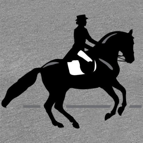 Dressage Rider - Women's Premium T-Shirt