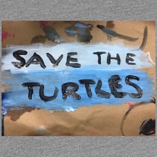Save The Turtles - Women's Premium T-Shirt