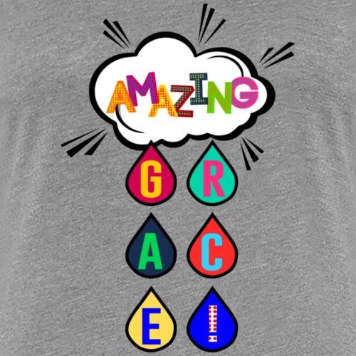 Amazing Grace_pop art - Women's Premium T-Shirt