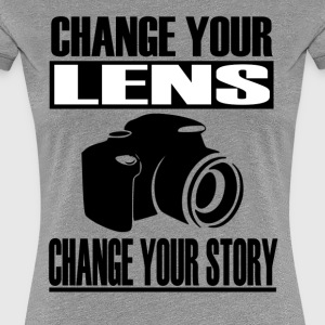 Change your lens - Women's Premium T-Shirt