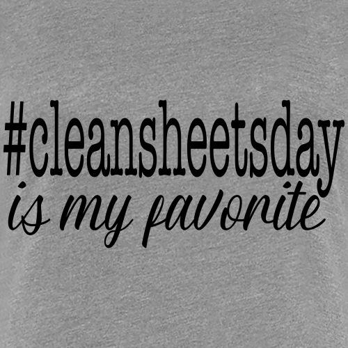 #cleansheetsday - Women's Premium T-Shirt