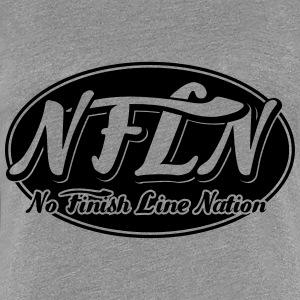 NFLN black background - Women's Premium T-Shirt