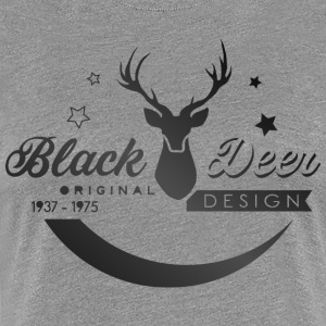Black Dear - Women's Premium T-Shirt