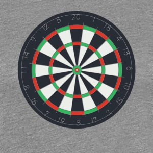 Dartboard - Women's Premium T-Shirt