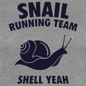 Snail Running Team Shell Yeah T Shirt - Women's Premium T-Shirt