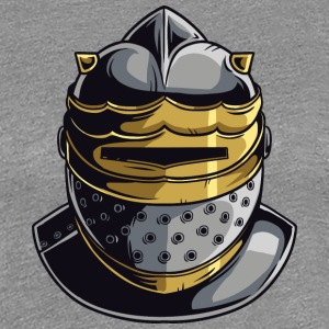 KNIGHT HELMET MASK - Women's Premium T-Shirt