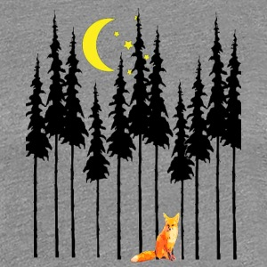 IMG 3018 fox in woods - Women's Premium T-Shirt