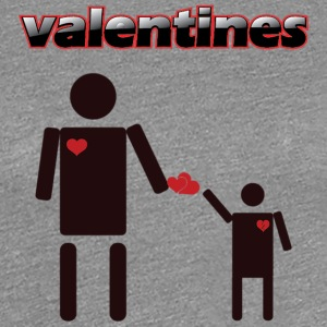 Valentines products an Tshirt design - Women's Premium T-Shirt