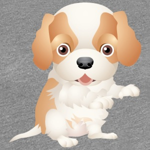 Cute and sweet puppy 11 - Women's Premium T-Shirt