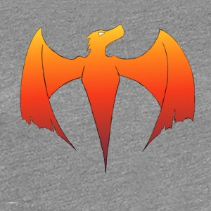 Flame Dragon - Women's Premium T-Shirt