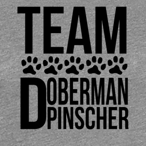 Team Doberman Pinscher - Women's Premium T-Shirt