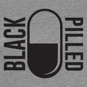 BlackPilled.com Logo Black - Women's Premium T-Shirt