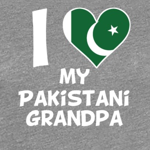 I Heart My Pakistani Grandpa - Women's Premium T-Shirt