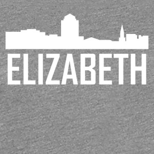 Elizabeth New Jersey City Skyline - Women's Premium T-Shirt