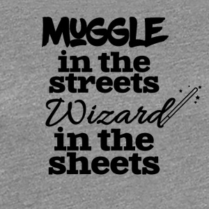 Muggle in the streets - Women's Premium T-Shirt