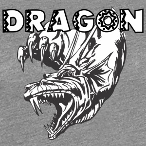 dragon_monster_3_white - Women's Premium T-Shirt