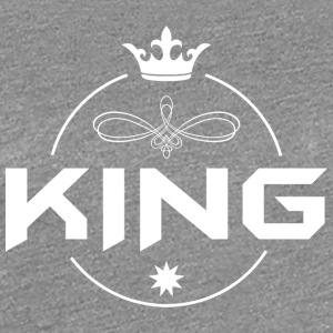 King with crown - Women's Premium T-Shirt