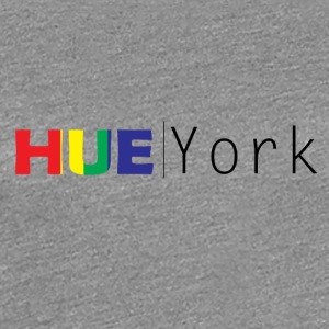Hue York Design3 (Retro-Heavy) - Women's Premium T-Shirt