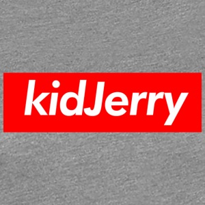 kidJerry Box Logo Red - Women's Premium T-Shirt