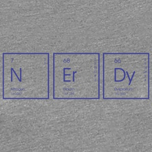 Funny Science N Er Dy - Women's Premium T-Shirt