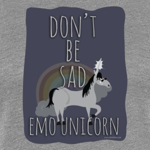 The Sad Emo Unicorn - Women's Premium T-Shirt