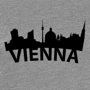 Arc Skyline Of Vienna Austria - Women's Premium T-Shirt