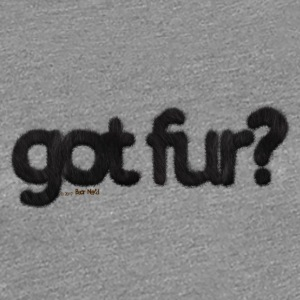 got fur?-Furry Fun-Gay Bear Pride-Black Bear - Women's Premium T-Shirt