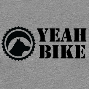 yeah_bike_black - Women's Premium T-Shirt