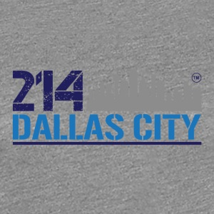 214 DALLAS CITY - Women's Premium T-Shirt