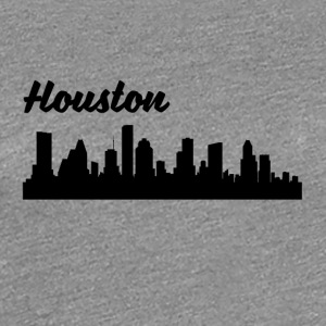 Houston TX Skyline - Women's Premium T-Shirt