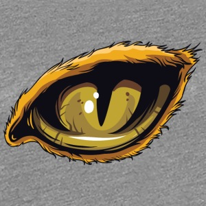 Wild cat eye - Women's Premium T-Shirt